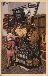 Artisans' Market, Mexico - Pan American World Airways
