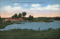 Boat House at Pymatuning Reservoir