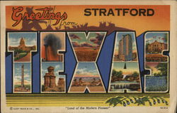 Greetings from Stratford Postcard
