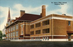 St. John's High School Postcard