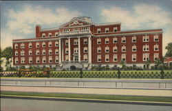 WM. Booth Memorial Hospital Postcard