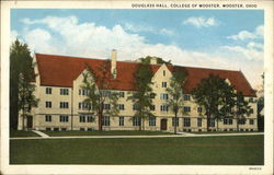 Douglass Hall at the College of Wooster