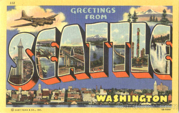 Vintage Postcards from Cardcow.com