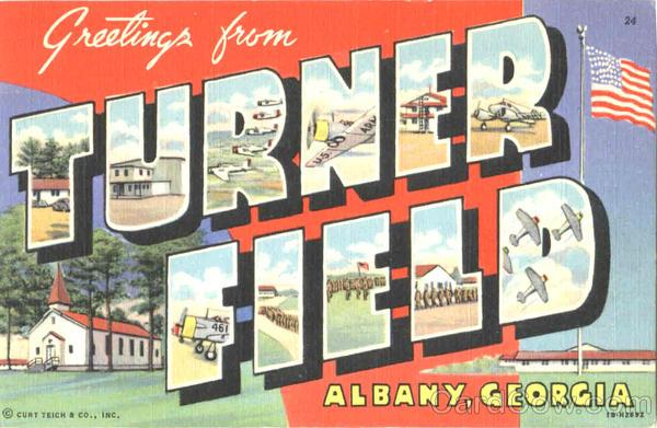 Greetings From Turner Field Albany GA