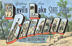 Greetings From Devils Lake, State Park