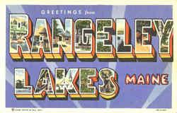 Greetings From Rangeley Lakes