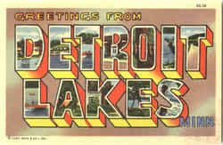 Greetings From Detroit Lakes