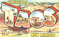 Greetings From Taos