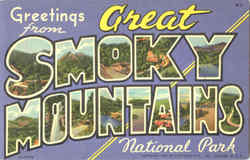 Greetings From Great Smoky Mountains