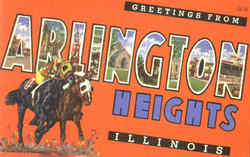 Greetings From Arlington Heights Postcard