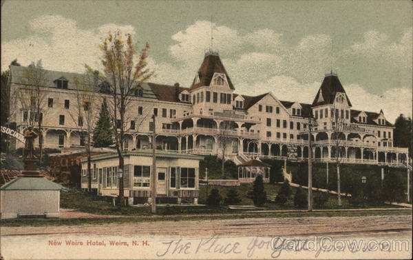 New Weirs Hotel Weirs Beach New Hampshire