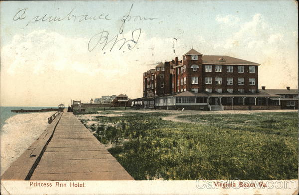 Princess Ann Hotel Virginia Beach