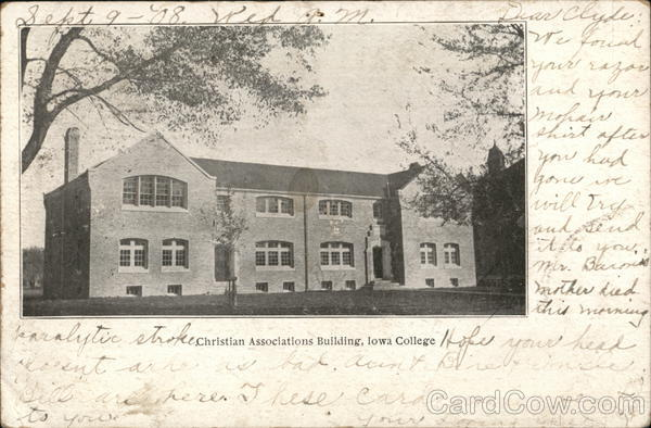 Christian Associations Building, Iowa College Iowa City