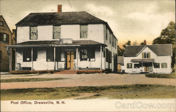 Post Office Building Drewsville New Hampshire