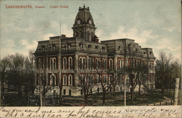 Court House Leavenworth Kansas