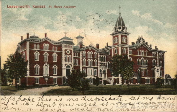 St. Mary's Academy Leavenworth Kansas