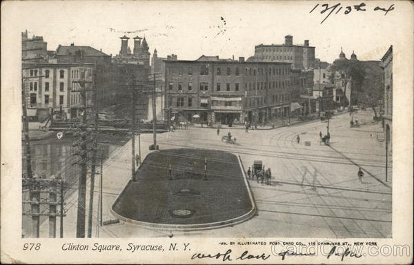 View of Clinton Square Syracuse New York