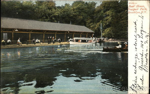 Boat House, Prospect Park Brooklyn New York