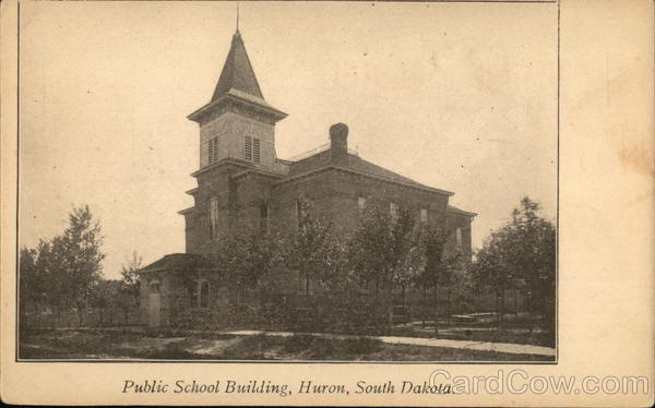 Public School Building Huron South Dakota