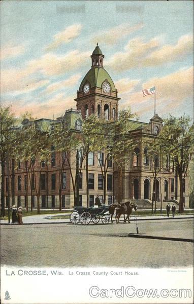 La Crosse County Court House Wisconsin