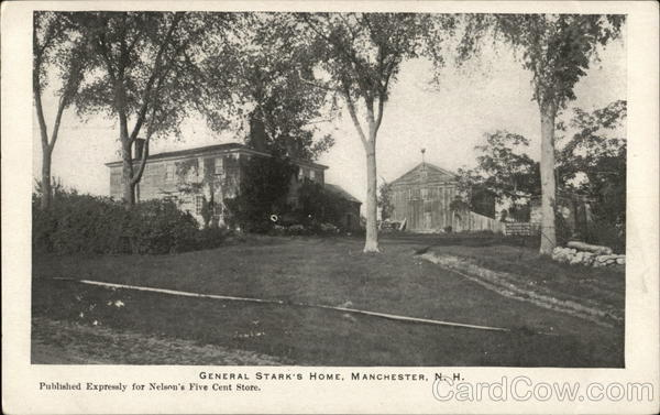 General Stark's Home Manchester New Hampshire