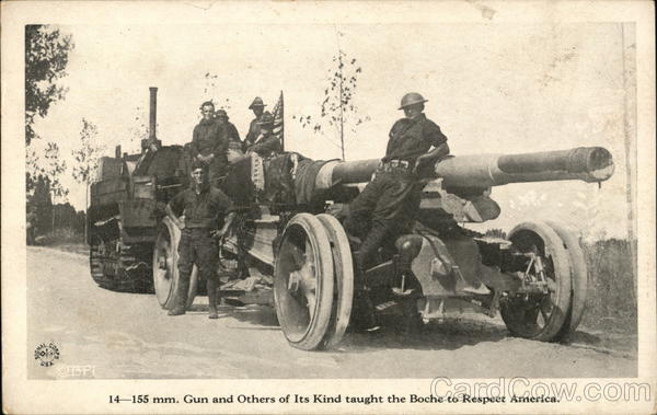 155mm. Gun and Others of Its Kind Military