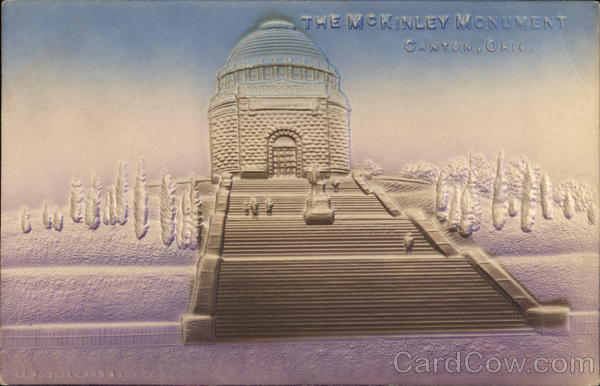 McKinley Monument Canton Ohio Airbrushed