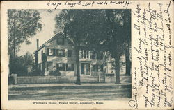 Whittier's Home, Friend Street