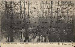 View of Fletcher's Brook Postcard