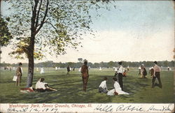 Washington park Tennis Grounds