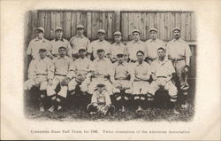 Columbus Base Ball Team for 1906