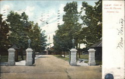 Gates at Fort McPherson