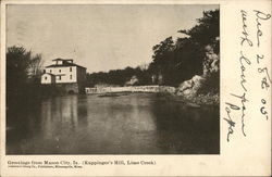 Kuppinger's Mill, Lime Creek