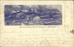 Plant of the Western Tube Co., 4,500 Employees