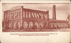 Printing House of the Mayflower Publishing Company Postcard
