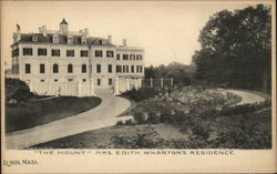 """The Mount"" - Mrs. Edith Wharton's Residence"