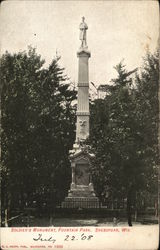 Soldier's Monument, Fountain Park