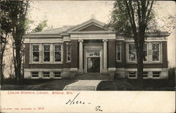 Ludlow Memorial Library Postcard