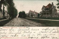 Jefferson St. Looking East