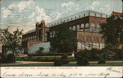 Horticultural hall, Fairmount Park