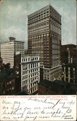 View Showing Farmers Bank Bldg. and Oliver Bldg.