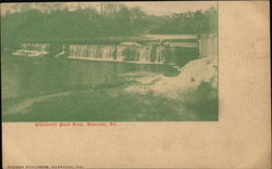 Ellsworth Park Dam Postcard