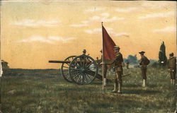 Soldiers With Cannon