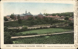 Vermont House of Correction Postcard