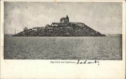 Egg Rock and Lighthouse