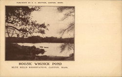 Hoosic Whicick Pond, Blue Hills Reservation