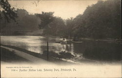 Panther Hollow Lake, Schenley Park