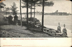 View From Cherry Island Postcard