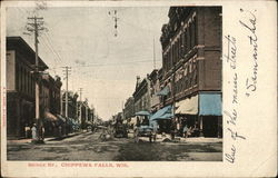 Bridge Street, Chippewa Falls, Wis.