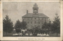 Scandinavia Academy, Fall Term, 1906